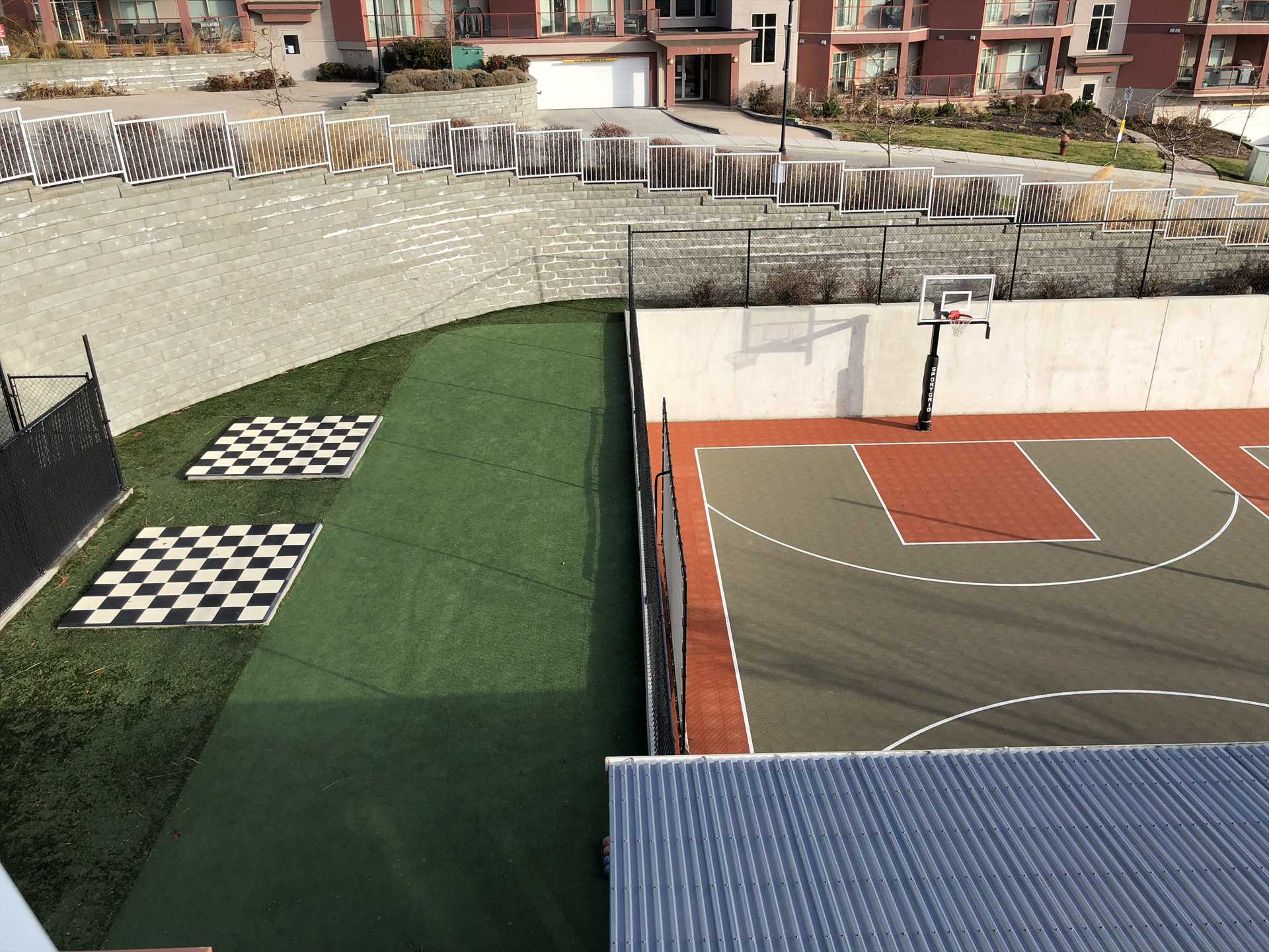 Basketball Court and Games