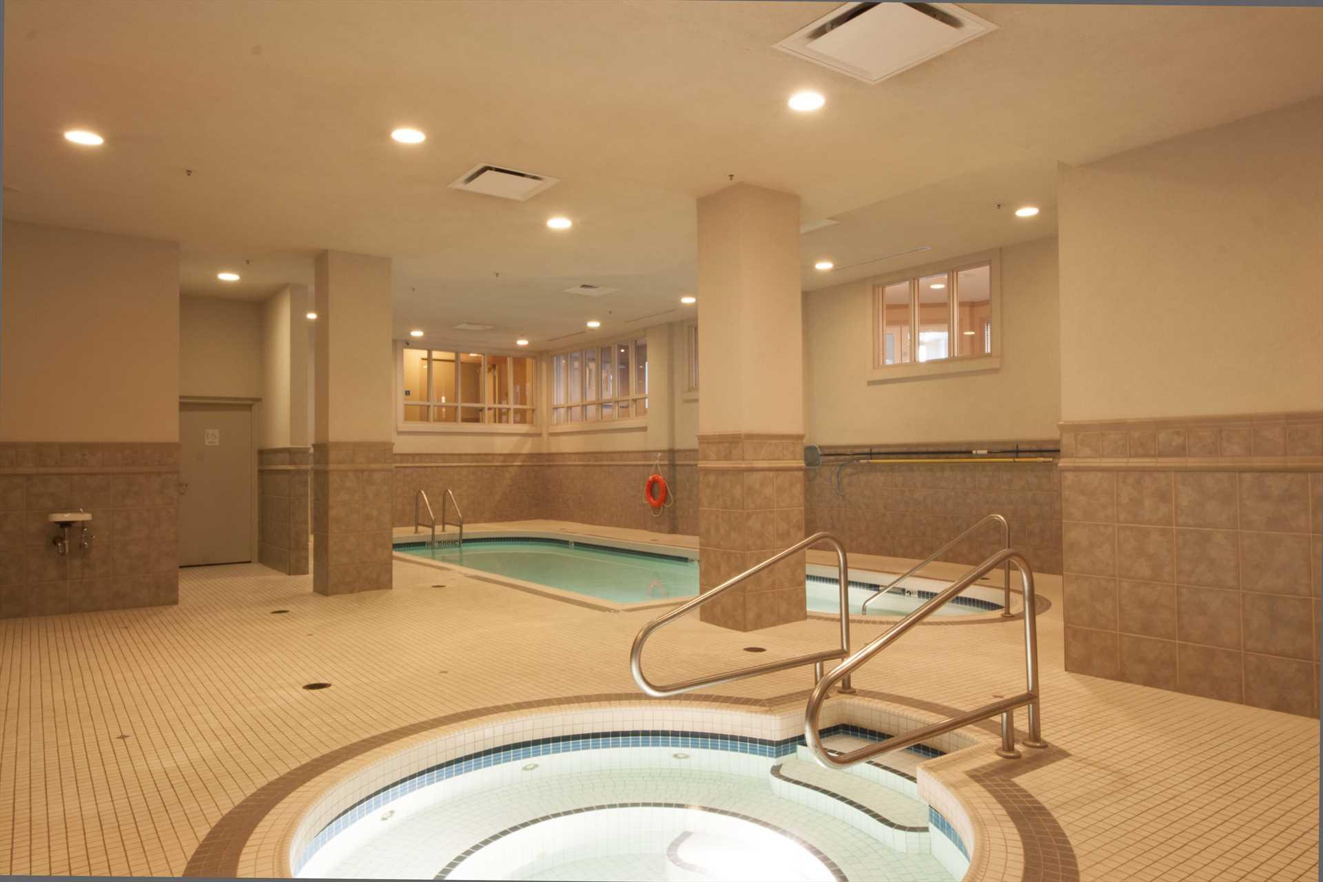 Hot Tub & Indoor Saltwater Pool